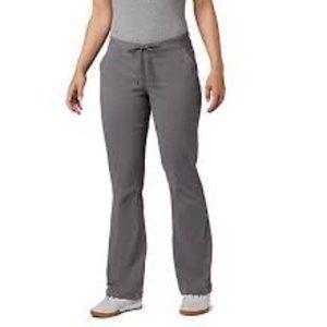 Columbia Gray Nylon Hiking Pants